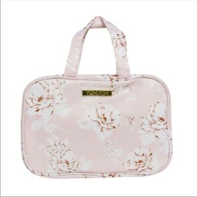 Yumi Kim Pink Floral Hanging Makeup Train Case Ebay