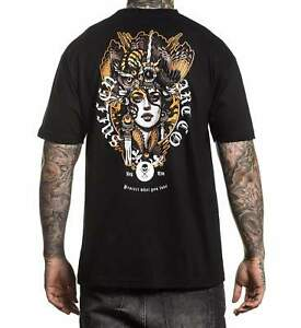 Sullen Art Collective Dream Mens T-Shirt Owl Headdress MMA ...