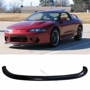 fit 97 99 mitsubishi eclipse front bumper lip pu material. Black Bedroom Furniture Sets. Home Design Ideas