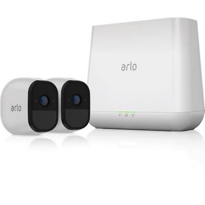 Netgear Arlo Pro VMS4230 Sicherheitssystem 2x HD Kamera & Basisstation Sirene