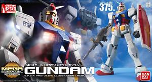 RX-78-2 Gundam Mega Size GUNPLA Model Kit Montaggio 1 48 37,5 cm BANDAI Japan