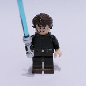 sw526 Lego Anakin Skywalker Minifigure From Star Wars Sets 75038