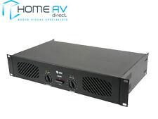 QTX SOUND Q600 STEREO POWER AMPLIFIER 600W MAX PA DJ 172.054 **FREE P&P**