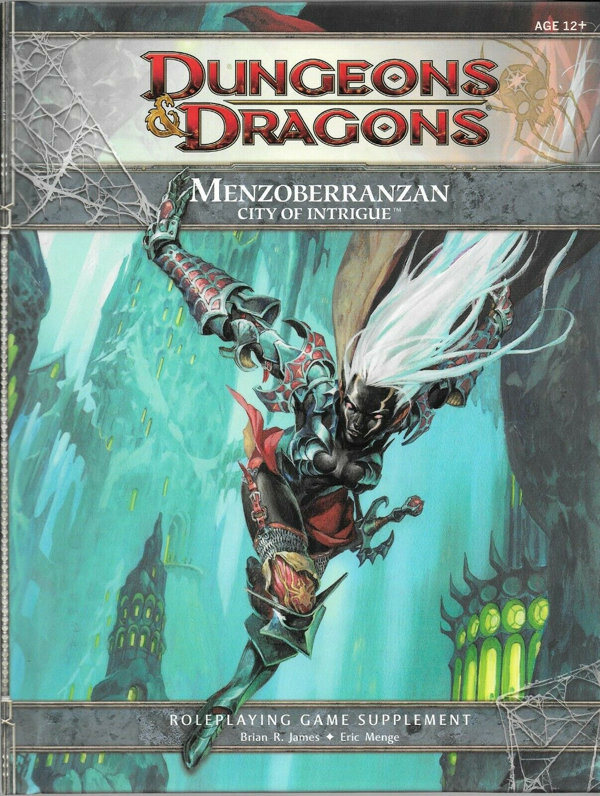 Dungeons and Dragons  Menzoberranzan City of Intrigue   RPG Supplement, OOP WOTC