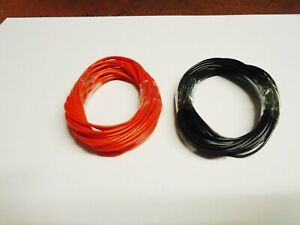 10 Metres Hornby Peco Bachmann Red/black 7/02mm Train Track Layout Hook Up Wire