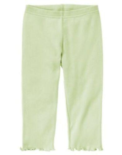 GYMBOREE FAIRY WISHES LIGHT GREEN BASIC LEGGINGS 3 6 12 5T NWT