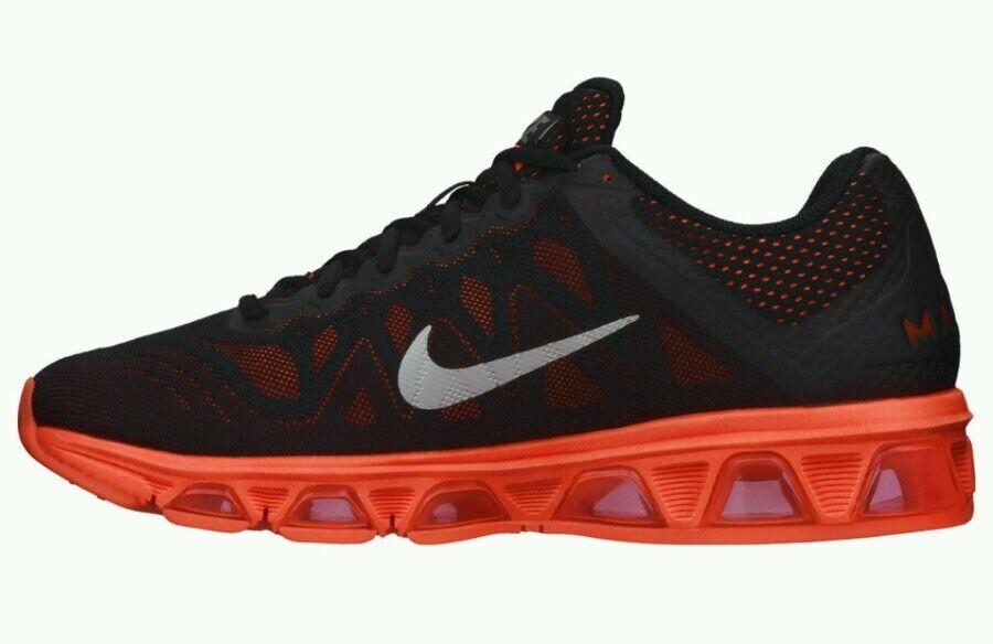 Nike Air Crimson Max Tailwind 7 zapatillas hombres Negro Hyper Crimson Air nuevo US 7,5 3148d8
