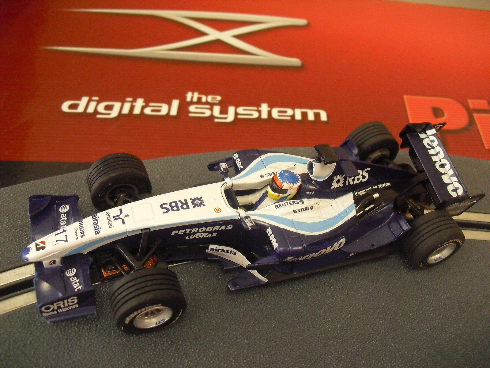 Scalextric Williams F1 Fw28 Digital System New 1 32 senza Scatola