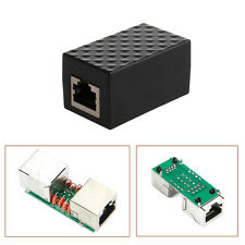 Lightning Arrester RJ-45 Adapter Ethernet Surge Protector Network Protect Device