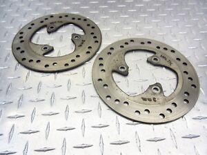 2001-01-04-APRILIA-SR50-DITECH-SR-50-FRONT-REAR-BRAKE-DISC-ROTOR-DISCS-ROTORS