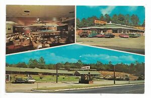 VTG-Post-Card-Firebird-Inn-Troy-Motel-Troy-Alabama