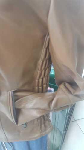 Giacca Taglia 52 48 Giubbotto Donna 50 Italy Marrone 46 Made In Pelle BOP0B
