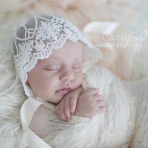 0-6M-Newborn-Baby-Girl-Photo-Photography-Prop-Lace-Floral-Hat-Cap-Beanie-Bonnet