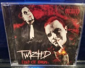 Twiztid - End of Days CD SEALED insane clown posse boondox prozak rare icp blaze