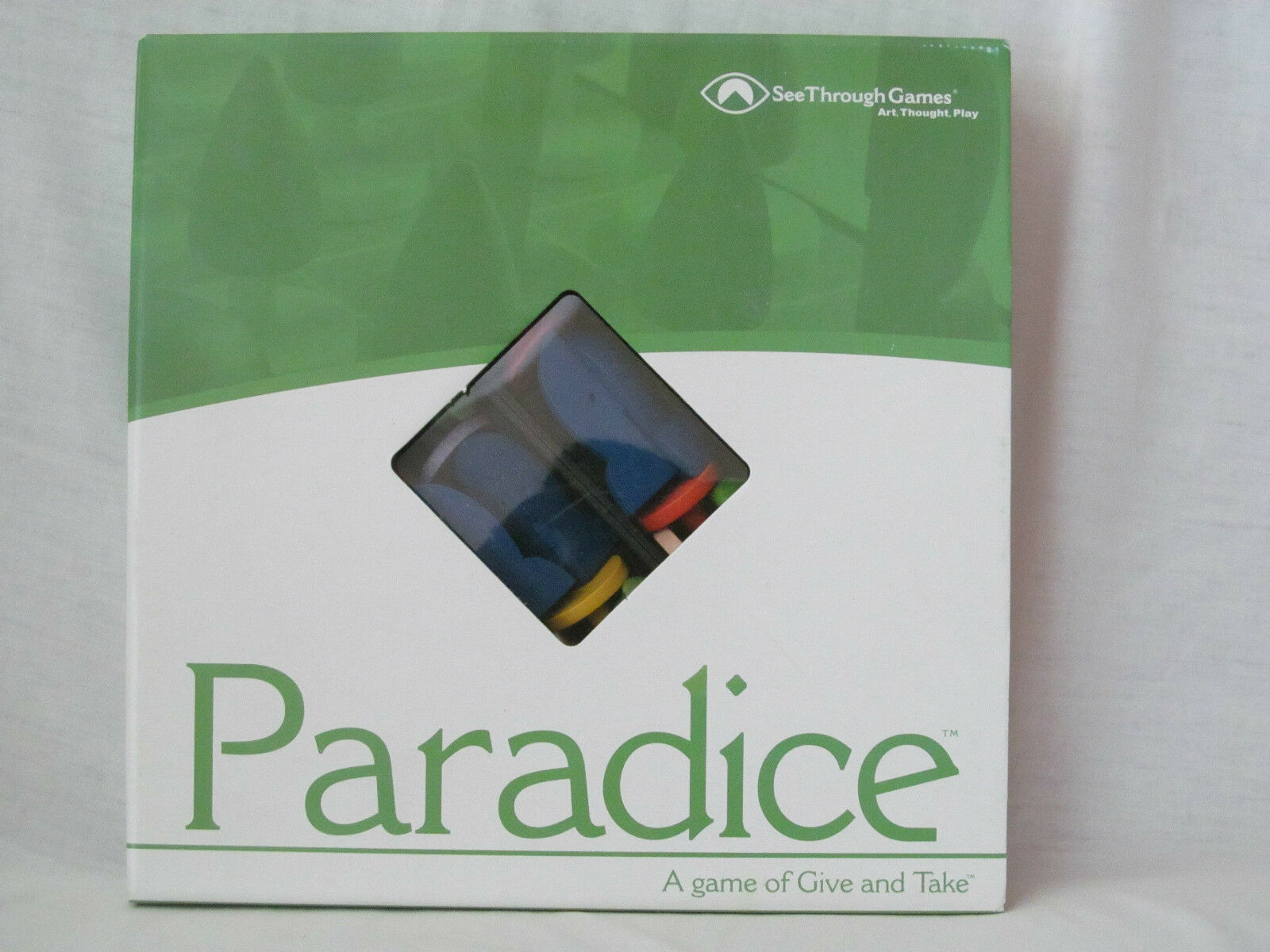 New Paradice Board Game by See Through Games for Conscious Living Educational
