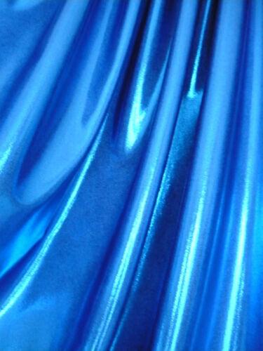 Dance Costume Lycra Fabric Royal Blue Fog//Mystique 50cm 150cm wide