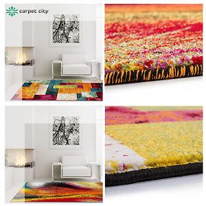 Das Bild Wird Geladen Teppich Modern Designer Wohnzimmer  Schafzimmer Seele Farbklecks Rechteck