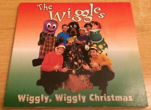 THE-WIGGLES-Wiggly-Wiggly-Christmas-CD-1996-classic-line-up-Murray-Years-digipak
