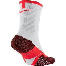 Nike Dri-Fit Elite Crew Tennis Socks Style SX4935-100 Size L (8-12)