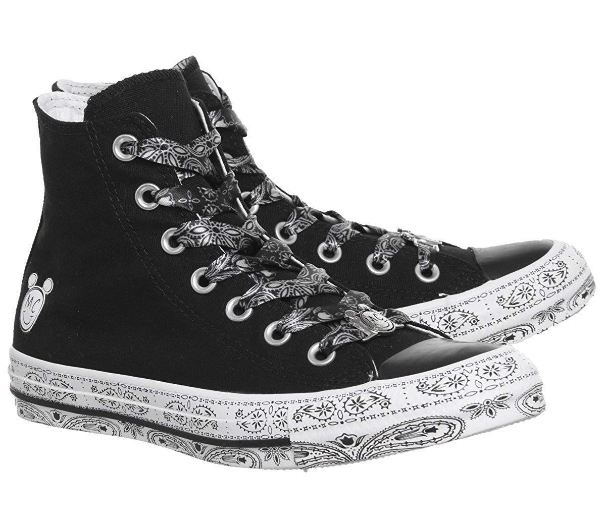 preocuparse Sabueso Interesar  Women's Converse x Miley Cyrus Chuck Taylor AS Hi, 162234C Multi Sizes  Black//Wh for sale online
