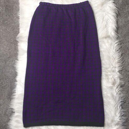Marimekko vintage wool midi skirt
