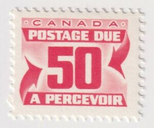 1967-1978 Canada - Numeral Stamps - 50 Cent Postage Due Stamp