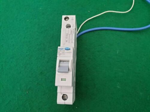 Hager 6amp Rcbo ADB106 B6 10kA 30mA Hager Rcbo  Used And Immaculate