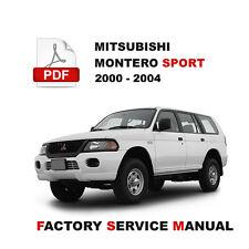 item 4 mitsubishi 2000 2001 2002 2003 2004 montero sport wiring circuit  diagram manual -mitsubishi 2000 2001 2002 2003 2004 montero sport wiring  circuit