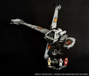 Display-stand-angled-slots-for-75050-B-Wing-Fighter-Star-Wars-Lego