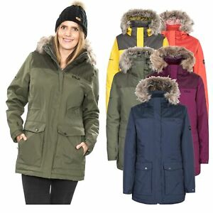 DLX-Womens-Parka-Jacket-Waterproof-Winter-Warm-Coat-with-Faux-Fur-Hood