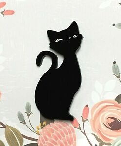 Black-Cat-Acrylic-Brooch-Brooches-Pins-Stocking-Stuffer-Gift-Ideas
