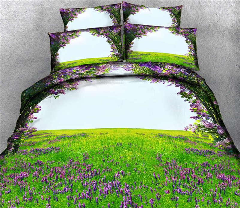 Extensive Prairie 3D Printing Duvet Quilt Doona Covers Pillow Case Bedding Sets