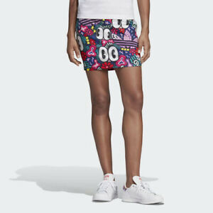 67f2f9d51a27 Image is loading Adidas-DV2674-Women-originals-3-Stripe-Skirts-blue-
