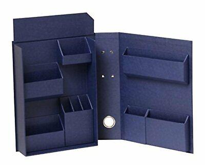 Nakabayashi Lifestyle Tool Accessory Storage case Box Navy M