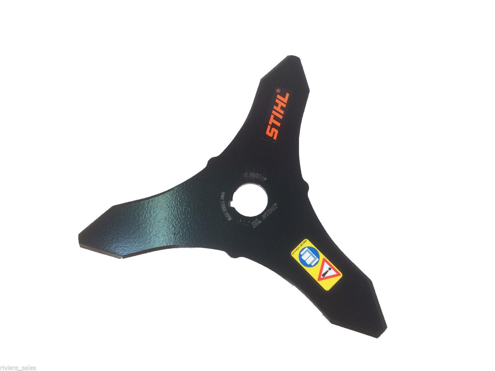 Stihl Genuino FS74 Metal Cortador Cepillo Hoja 41127134100 250mm