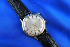 Jaeger LeCoultre Memovox / Memodate 10kt Gold Filled Oversized Mens Watch 38mm