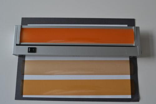 30 CM LANG WARMLICHTFILTER LED STRIPE STRIP STREIFEN 15-15,9 CM BREIT