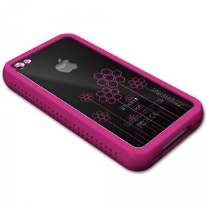 XtremeMac iPhone 4 Pink Microshield Tatu Silicone Case