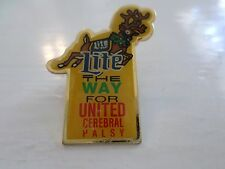 Miller Brewing Co Lite the Way for United Cerebral Palsy commemorative Pin