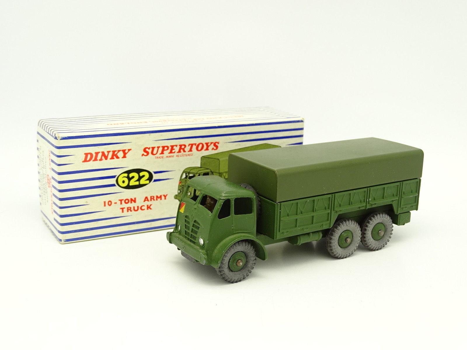 Dinky Spielzeug GB Militär 1 43 - 10 Ton Armee LKW 622