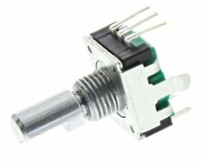 Details about Bourns 18 Pulse Incremental Mechanical Rotary Encoder with a  6 mm Flat Shaft (No