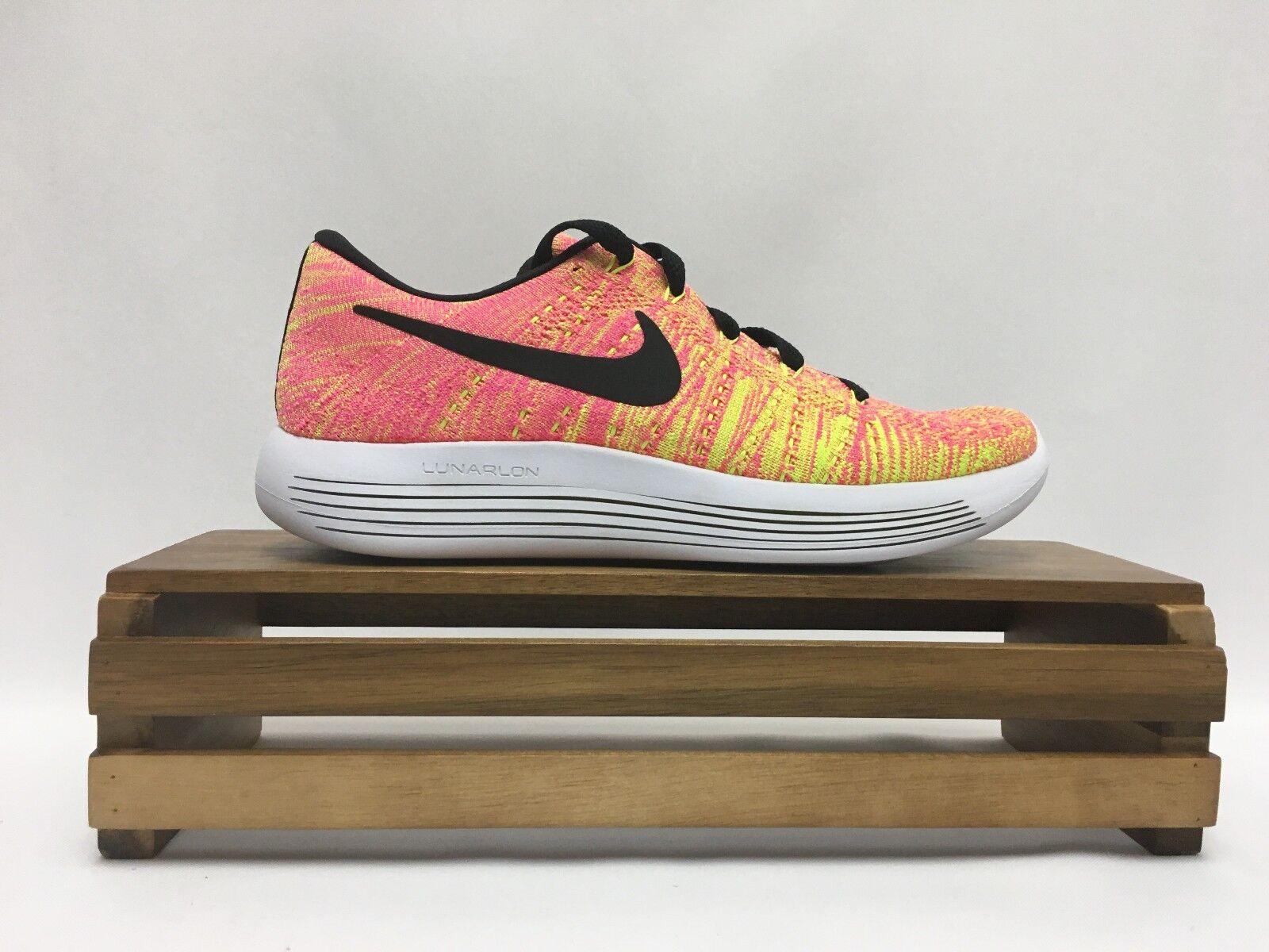 nike lunarepic faible flyknit oc chaussures orange jaune blanc 844863-999 new  's new 844863-999 914f51