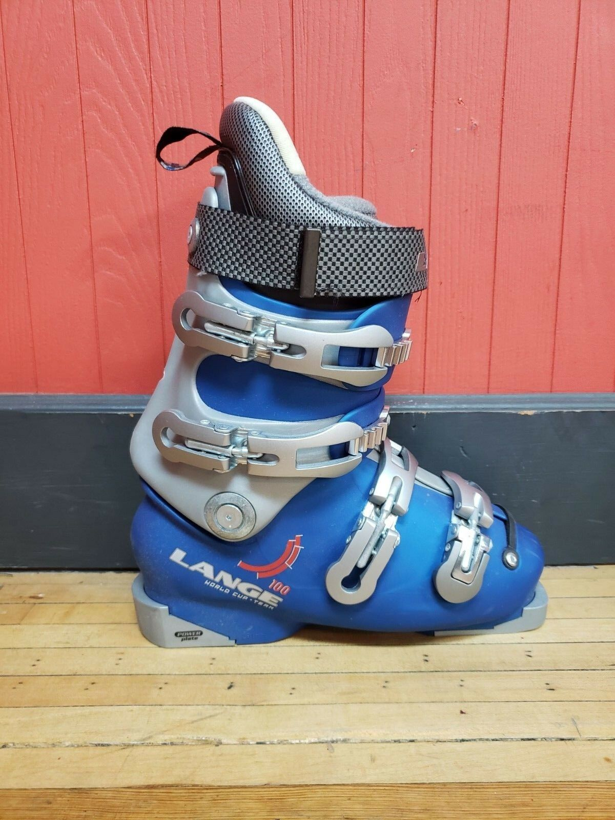 Lange World Cup 100 youth alpine ski race boots size 22.5 rossignol head