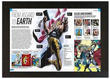 A3 Poster incorniciato STORIA Marvel Thor