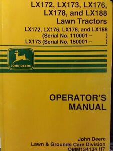 Details about John Deere LX172 LX173 LX176 LX178 LX188 Lawn Tractor on john deere gt275 wiring schematic, john deere lx173 wiring schematic, john deere z225 wiring schematic, john deere la145 wiring schematic, john deere f725 wiring schematic, john deere g100 wiring schematic, john deere sx85 wiring schematic, john deere x700 wiring schematic, john deere stx30 wiring schematic, john deere lx255 wiring schematic, john deere la175 wiring schematic, john deere stx38 wiring schematic, john deere rx75 wiring schematic, john deere l111 wiring schematic, john deere 260 wiring schematic, john deere x324 wiring schematic, john deere gx345 wiring schematic, john deere lx176 wiring schematic, john deere x500 wiring schematic, john deere x300 wiring schematic,