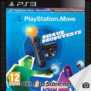 Jeu-PS3-PlayStation-Move-Disque-Decouverte-Sony-PS-3-1