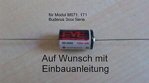 BUDERUS-Ecomatic-3000er-Ersatz-Batterie-Modul-M071-M171-Uhr-Ersatzbatterie
