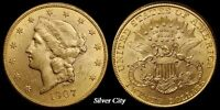 CH/GEM BU RANDOM COMMON DATE $20 LIBERTY HEAD GOLD UNITED STATES COIN