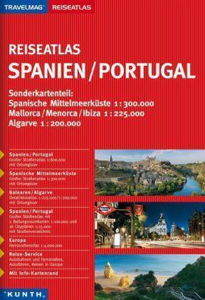 1 von 1 - Reiseatlas SPANIEN + PORTUGAL Algarve Mallorca Ibiza Menorca2014/15 Reiseführer