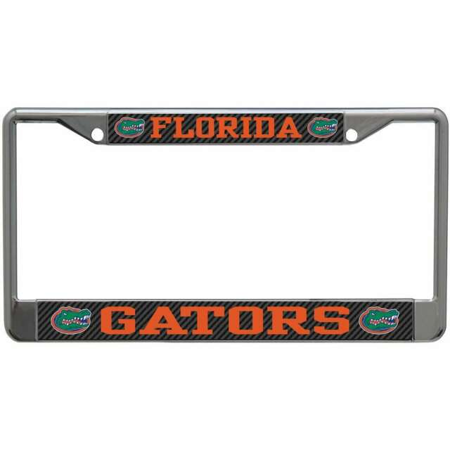 Florida Gators Metal License Plate Frame
